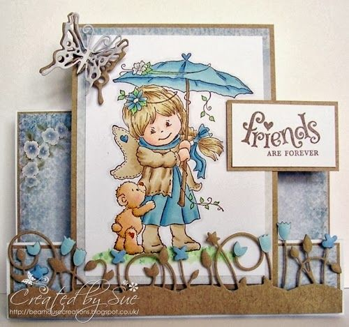 Creations by Bearhouse: Friends are Forever - Dies to Die for GDT card