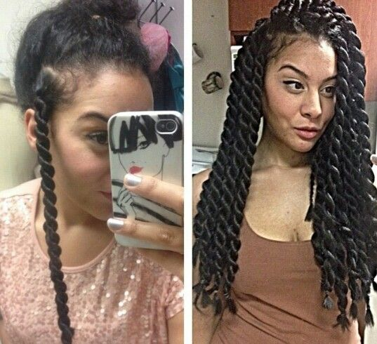 Braids¤ Twist (Natural Hair & Protective Styles) @ Angelascarfia ...
