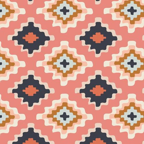 Photo of Fabric NATIVE TAPESTRY from Art Gallery, Homebody Collection HMB-34958 – continuous yardage in 1/2 yd installments