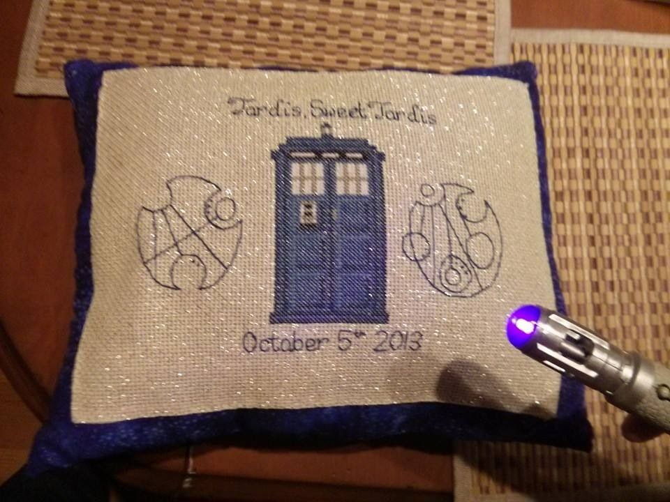 Perfect Wedding Gift For Doctor Who Fans, Groom's Name On