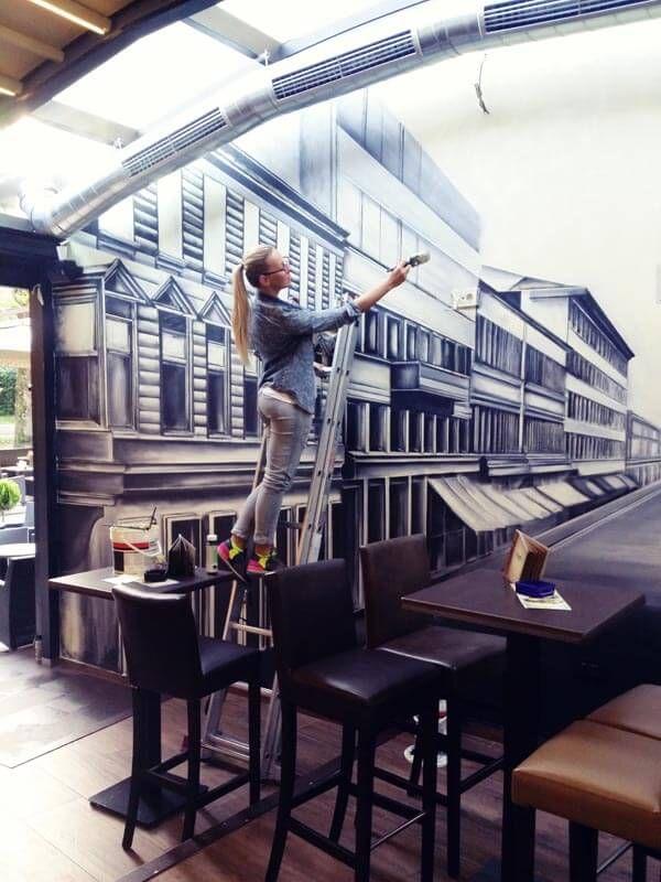 Oslikavanje zidova zagreb home decoration anitagenc oslikavanje mural artist