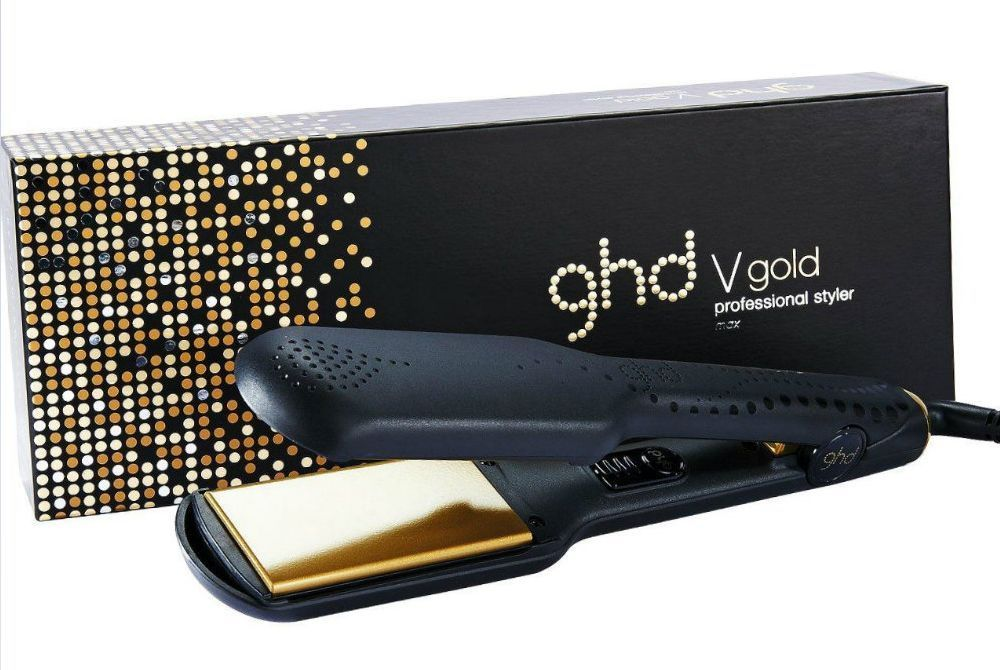 Genuine ghd Hair Straighteners Wide Plates V Gold Max Styler Professional ghds  sc 1 st  Pinterest & Genuine ghd Hair Straighteners Wide Plates V Gold Max Styler ...