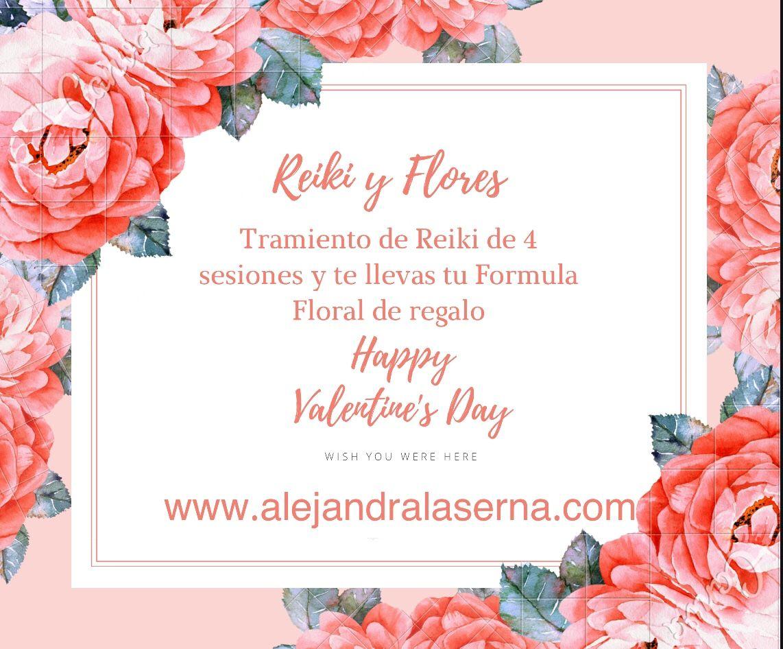 Happy Valentine's Day!! Reiki y Flores – Alejandra Laserna Marin Terapeuta Holistica