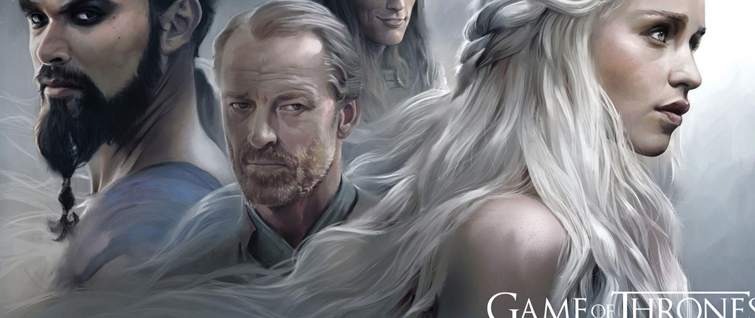 2560x1080 Wallpaper game of thrones, emilia clarke
