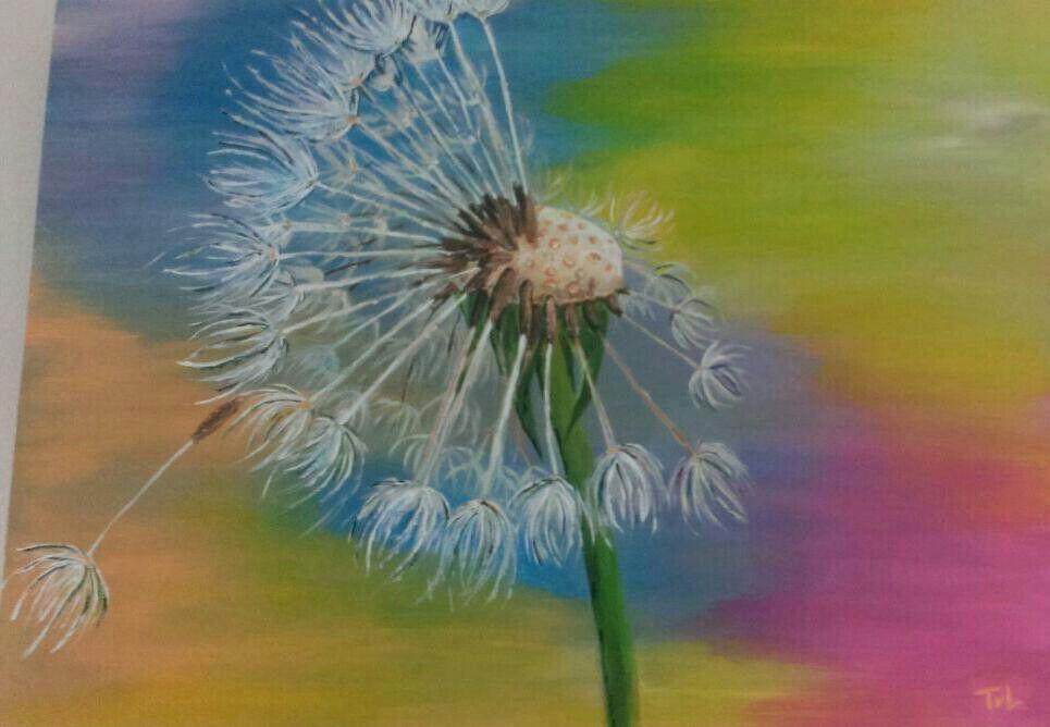 Beautiful dandelion - Tineke van Leeuwen