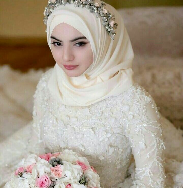 Hijab Wedding Dresses Bride Bridal Stunning Dream Outfits Muslim Niqab Outfit