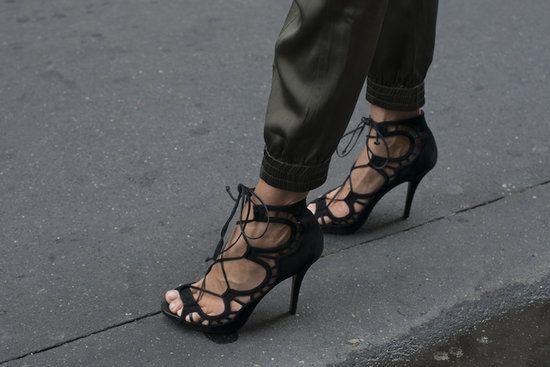 Super sexy black sandals
