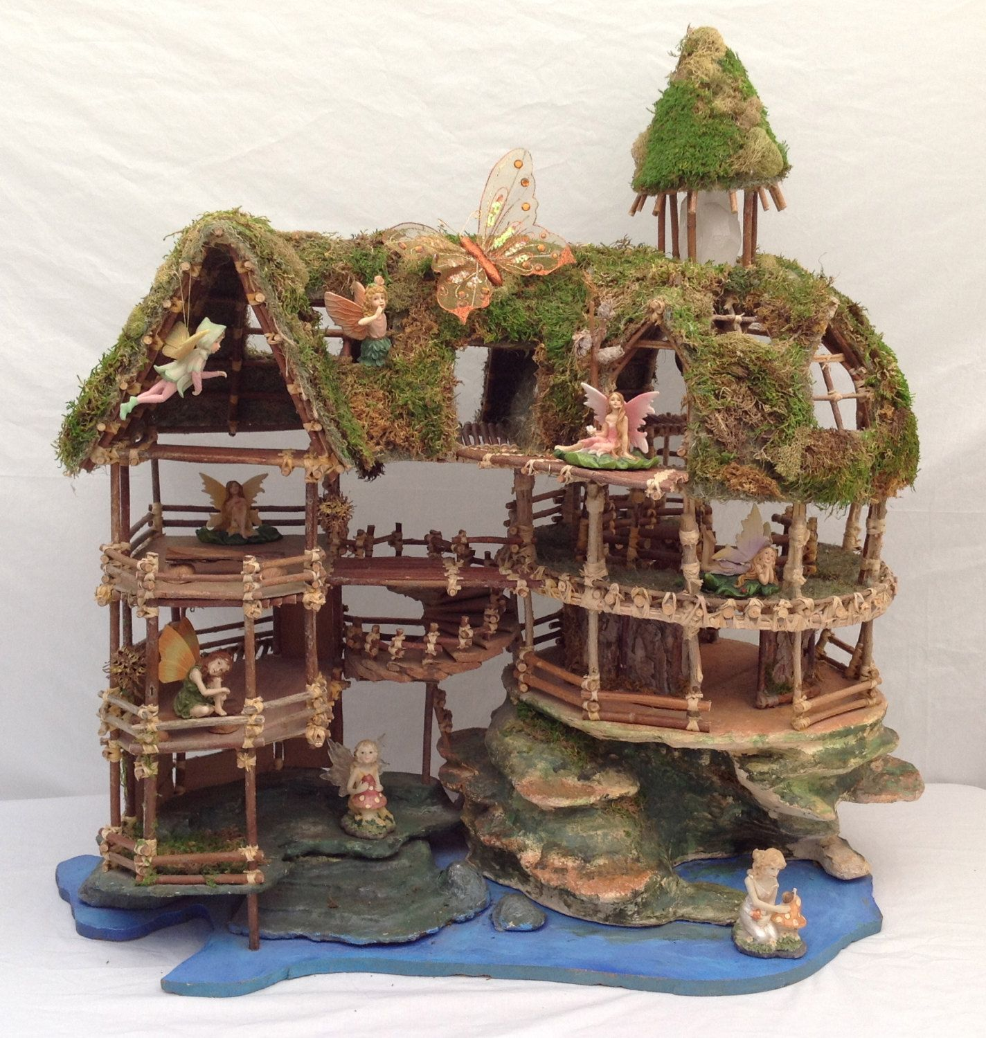 Gazebo Fairy House Kit 8 By 8 By 12 Inches Tall Learn The
