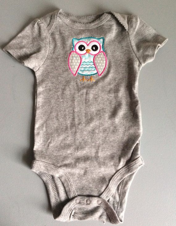SALE 40% OFF- Cute Baby Girl Clothes-Baby Girl Outfit- Owl Shirt ...