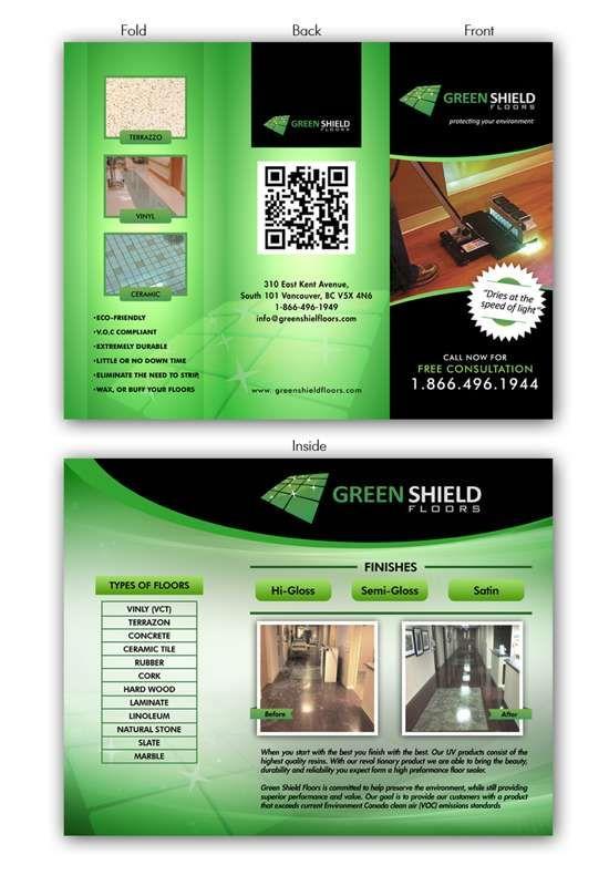 Espléndidos ejemplos de diseños de folletos #brochure #inspiration