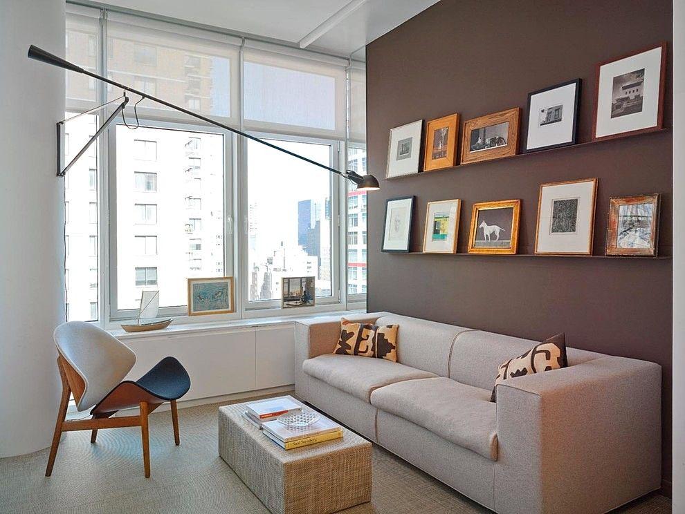 Warna Cat Ruang Tamu Minimalis Warna Cokelat Ruang