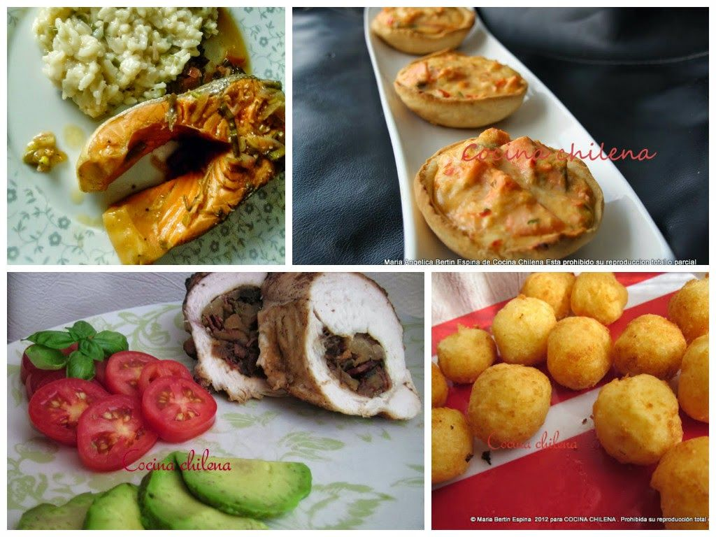 cocina chilena ensaladas entradas y platos de fondos