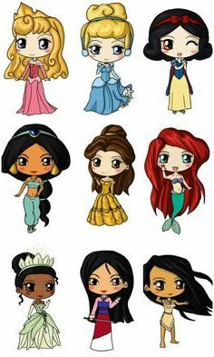 10 Inspirant De Dessin Princesse Kawaii Images - Coloriage