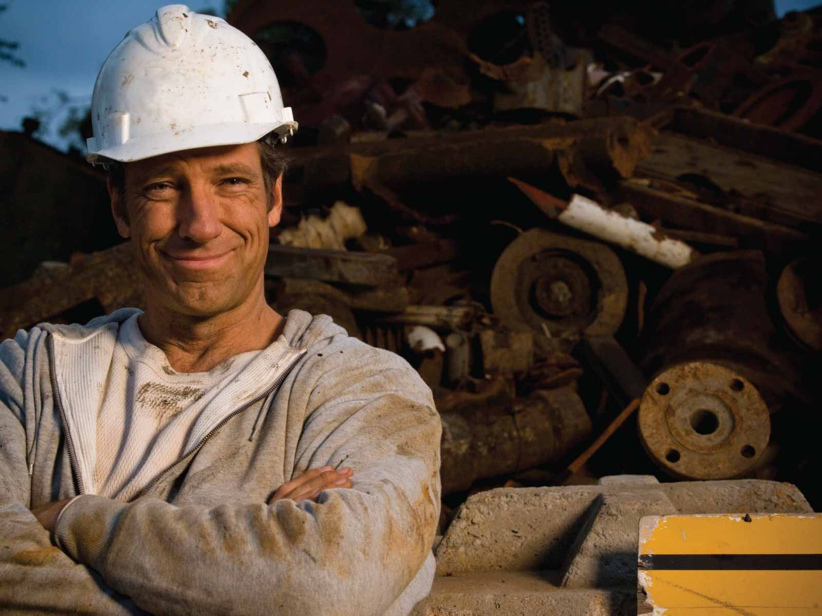 mike rowe's completely transparent, totally honest, eagle scout