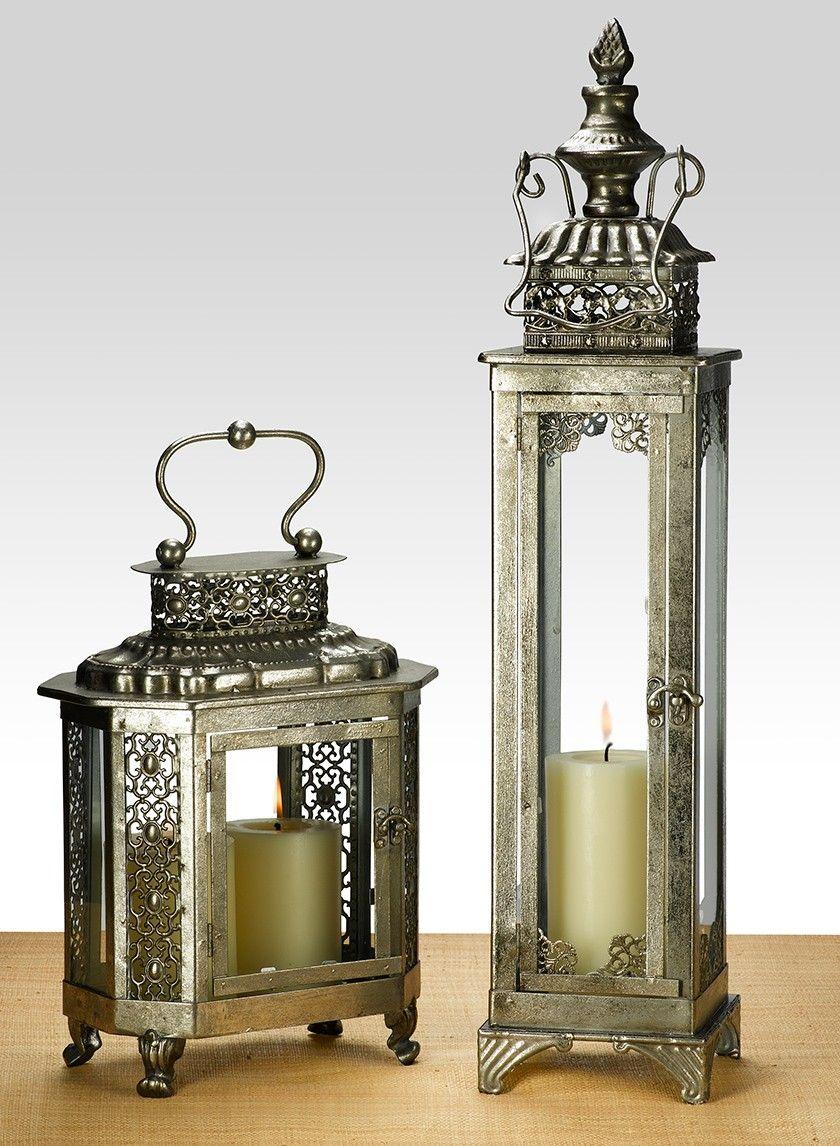 Wholesale Lanterns Lanterns For Weddings Metal Wood Silver Lanterns Large Candle Lanterns Candle Lanterns