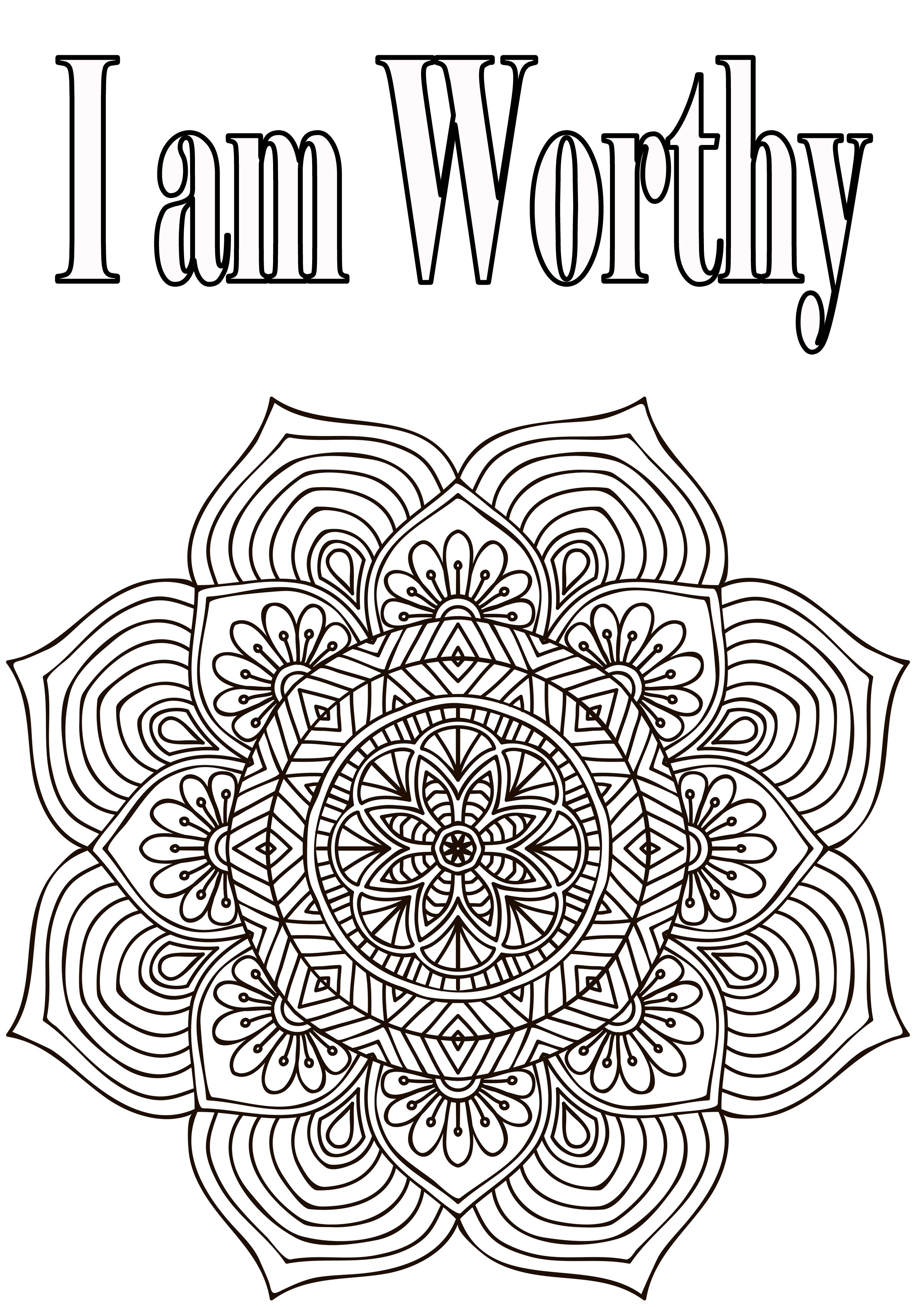 gratitude coloring pages Color Me Happy | The Letters of Gratitude | coloring quotes  gratitude coloring pages