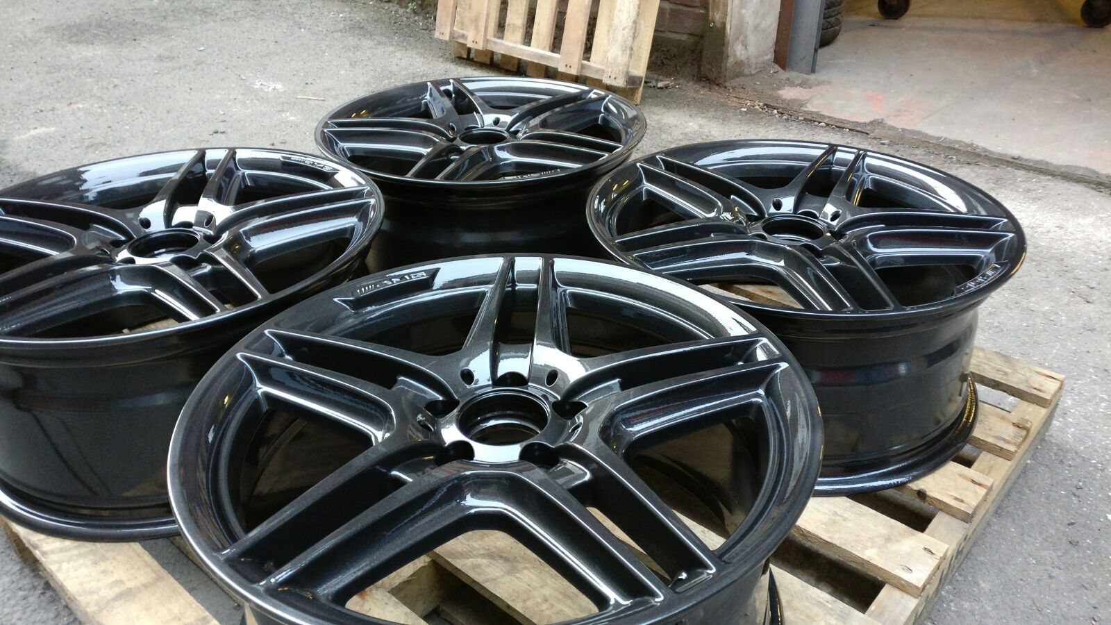 Anthracite Painted Wheels