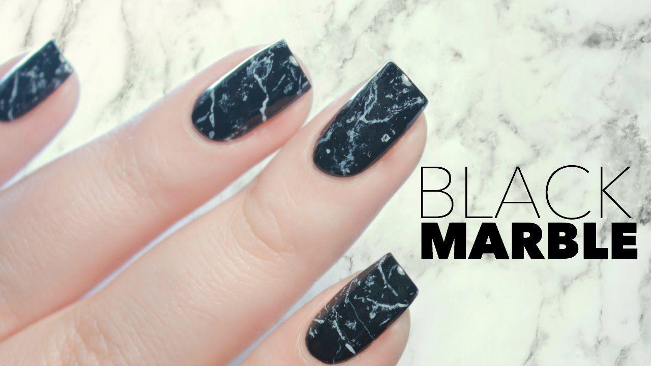 Nailstorming De Marbre Video Marble Nails Tutorial Dip