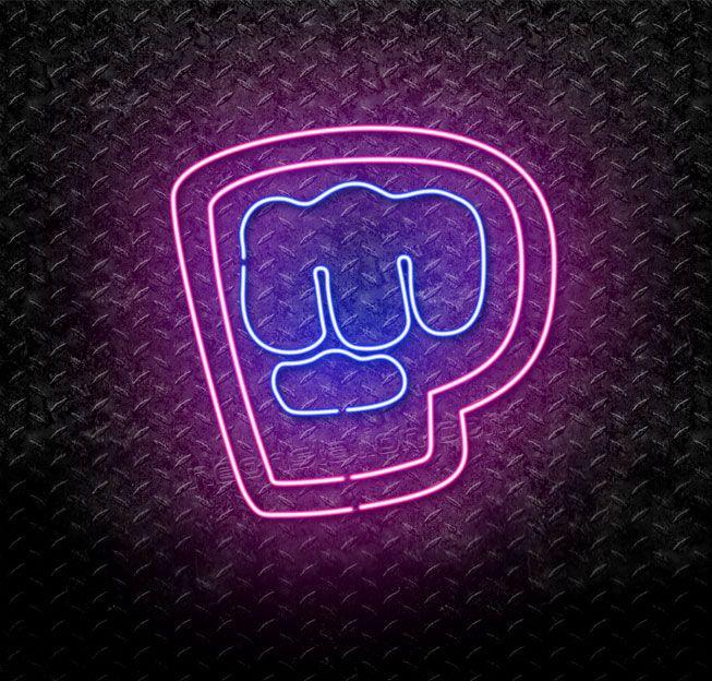 It S Pewds Neon Signs In 2019 Pewdiepie Neon Signs
