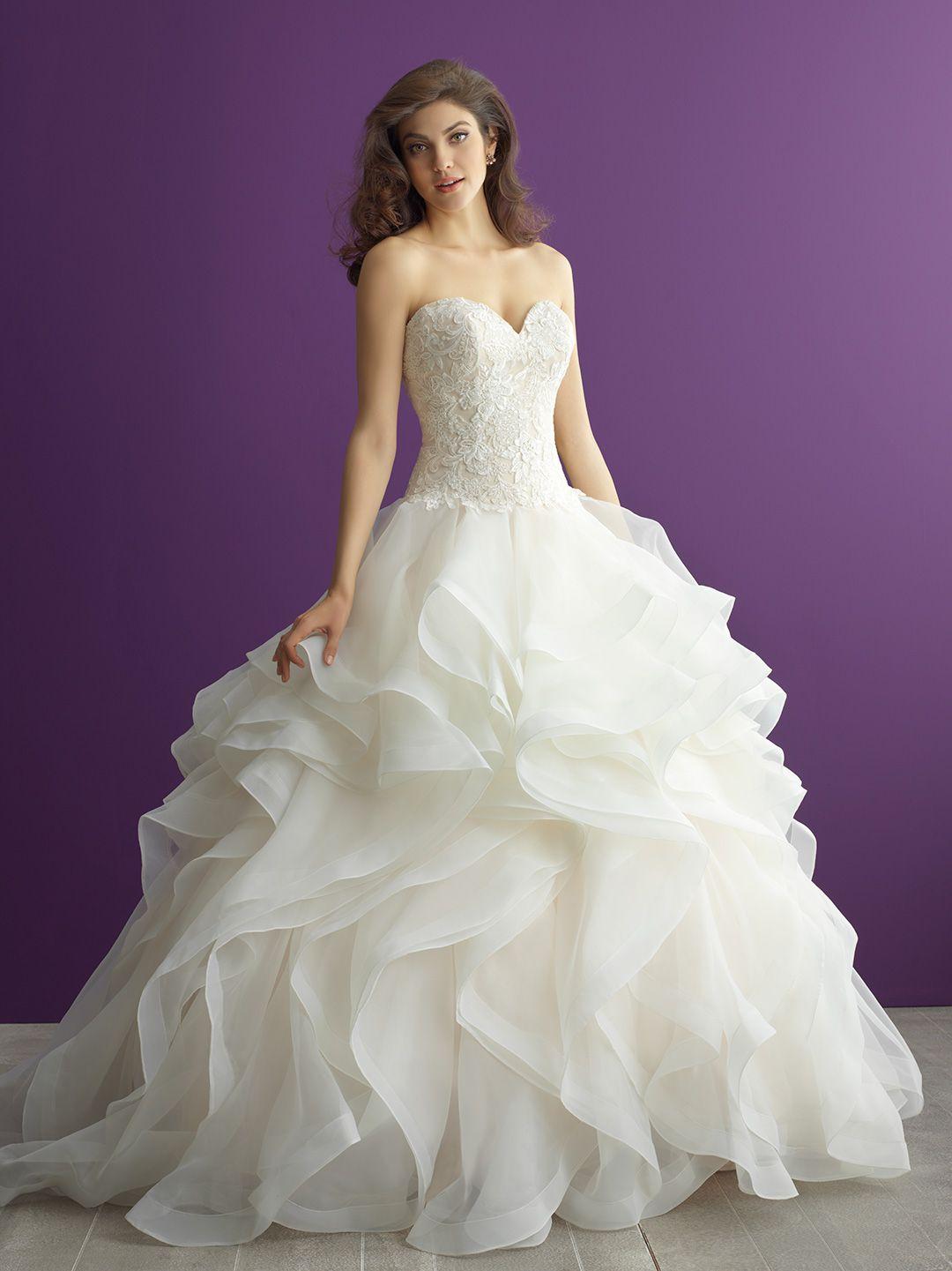 Allure Bridals - 2957   Allure Bridals Dresses at Romashka Bridal ...