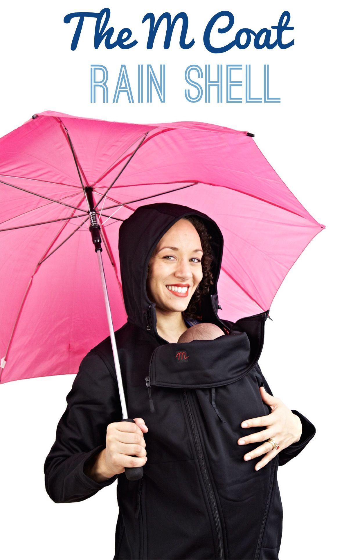 2913b8bf9bc9 The M Coat Maternity and Babywearing Rain Shell - Black