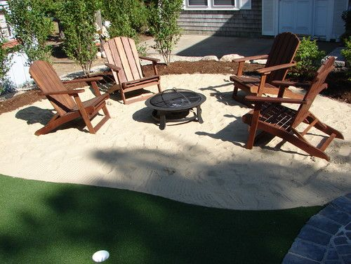Great Hangout Idea For Our Sand Pit In The Backyard!