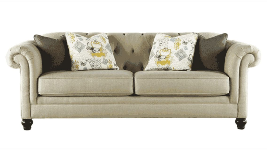 Tufted Couch Ashley Furniture Ashley Furniture Furniture