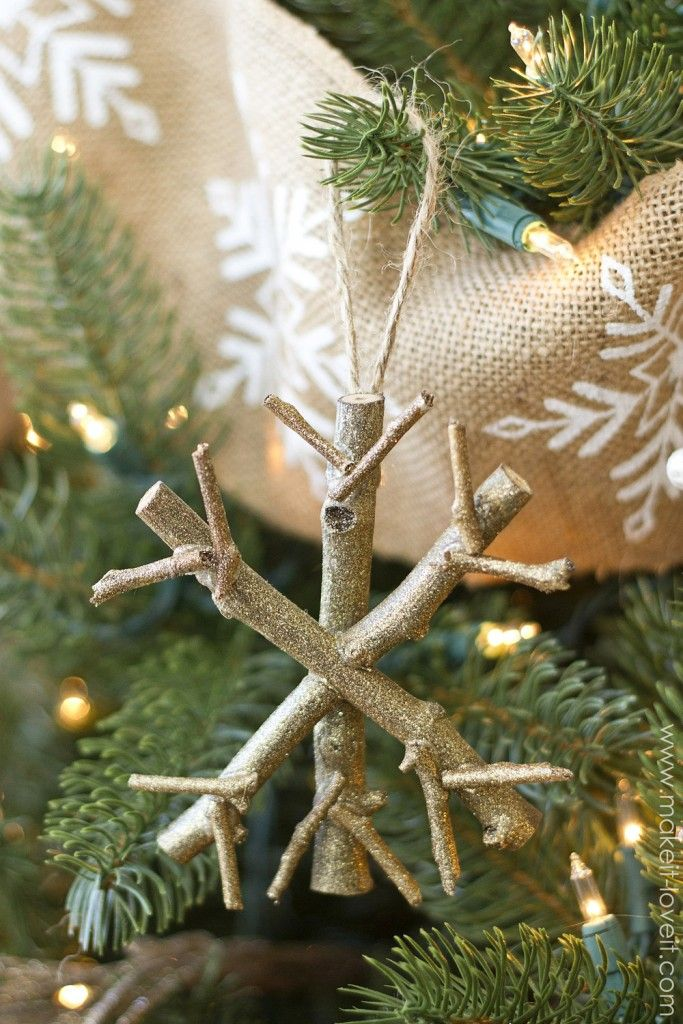 Top 40 Christmas Decoration Made With Twigs And Branches Christmas Celebration All About Christmas Diy Christmas Tree Christmas Decorations Rustic Creative Christmas Crafts