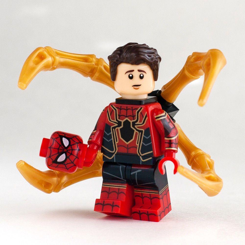 Лего железный паука картинки