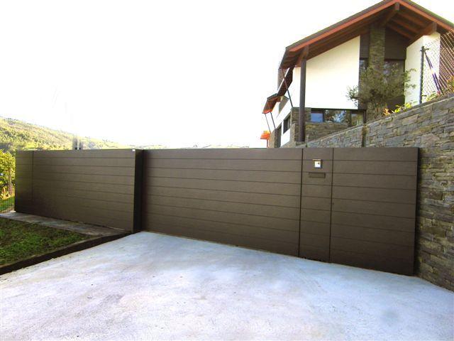 Resultado de imagen para puerta valla dise o casa fer - Vallas de diseno ...