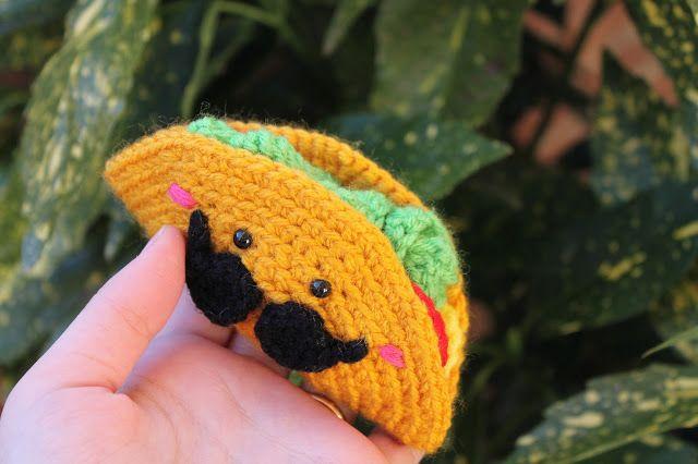 Free Amigurumi Food Patterns : Free mexican taco amigurumi crochet pattern and tutorial