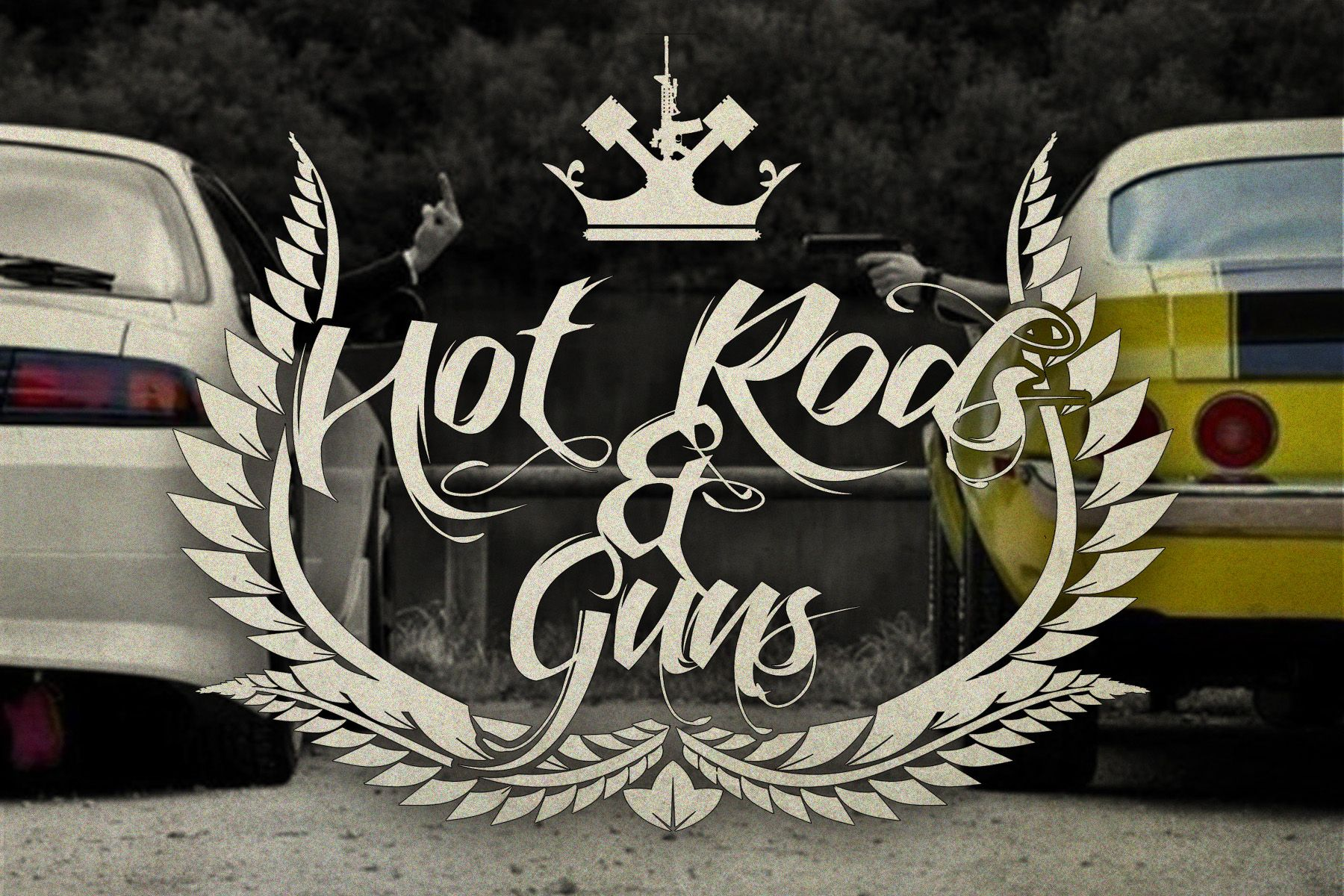 """""""Hot Rods & Guns"""" Order yours here: bit.ly/1eBwOHV"""