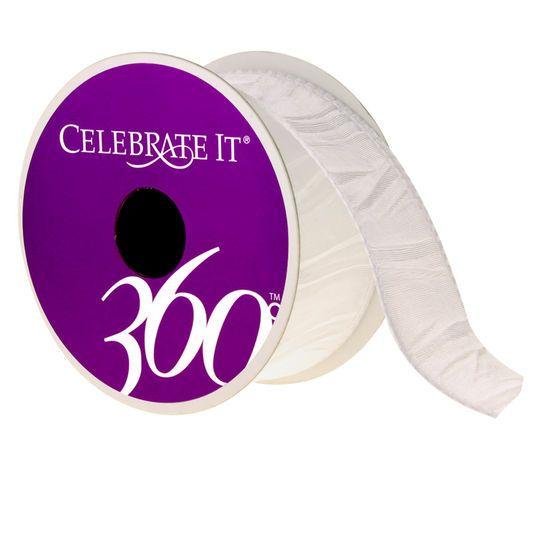 Crinkle Taffeta Ribbon by Celebrate It® 360°™