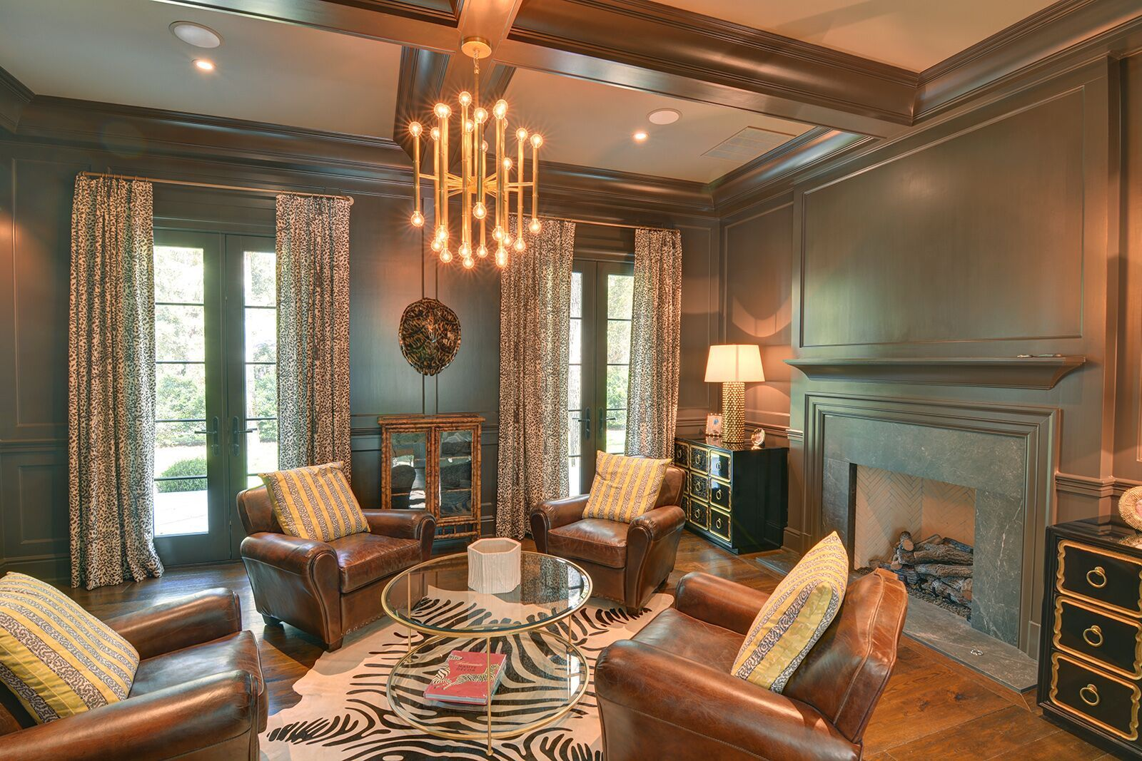 Fun chocolate brown study (With images)   Home decor ...