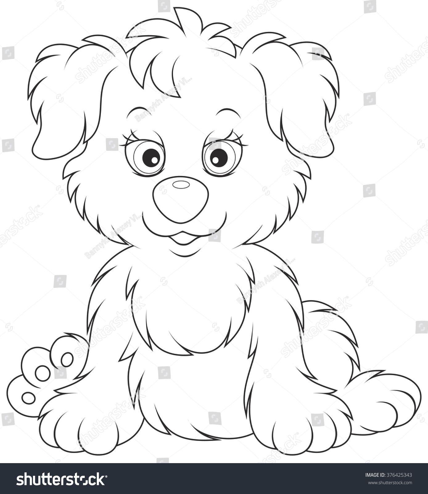 Puppy Wektorowa Ilustracja Stockowa Bez Tantiem 376425343 In 2020 Cartoon Clip Art Cute Drawings Art Drawings Simple