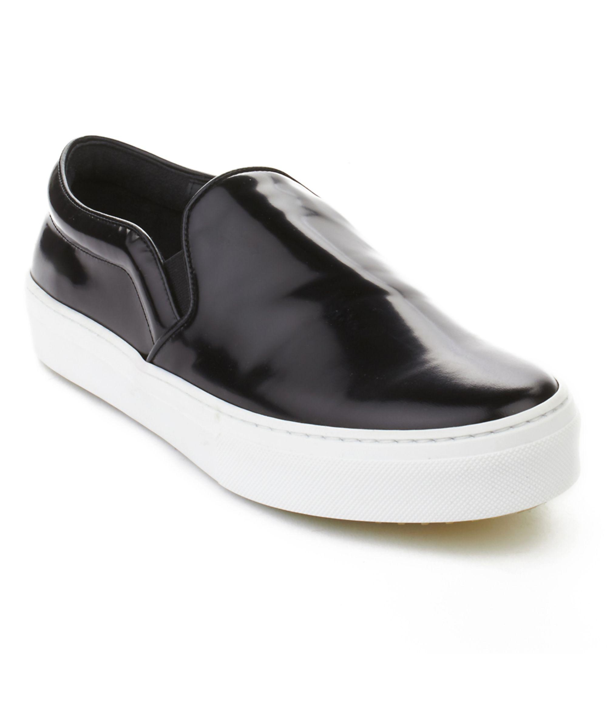 Céline Women's Patent Leather Slip-On