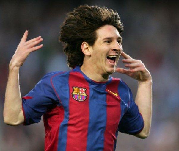 Messi Frisur