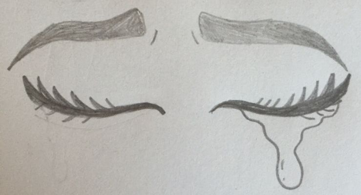 Stap voor stap: catoon ogen tekenen.