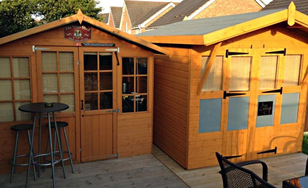 pub sheds small backyard pubs pub sheds building a on extraordinary unique small storage shed ideas for your garden little plans for building id=48341