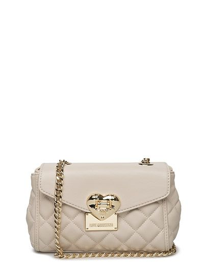 Small Quilted Crossbody bag - IVORY