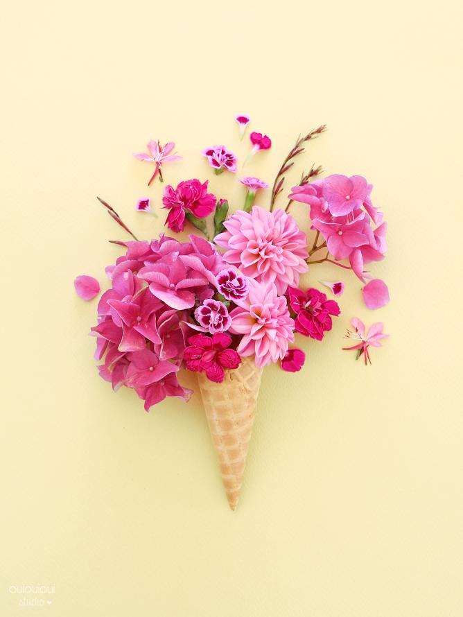 LA SAISON DES GLACES !!! ♥ modèle téléchargeable   Flowers ...