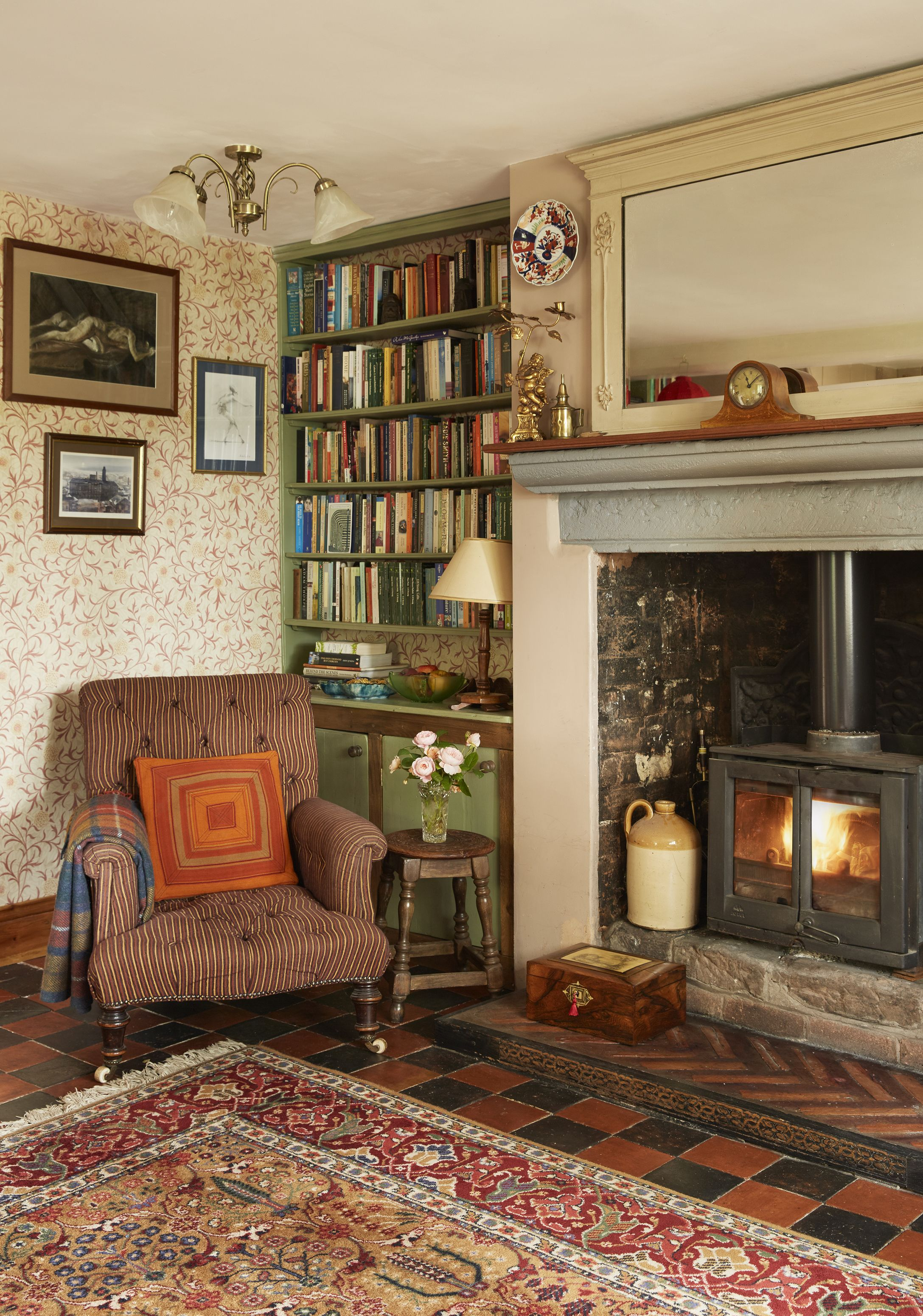 Be Inspired By This Pretty Cottage Transformation Cosy Cottage Living Room Cosy Living Room Cottage Living Rooms
