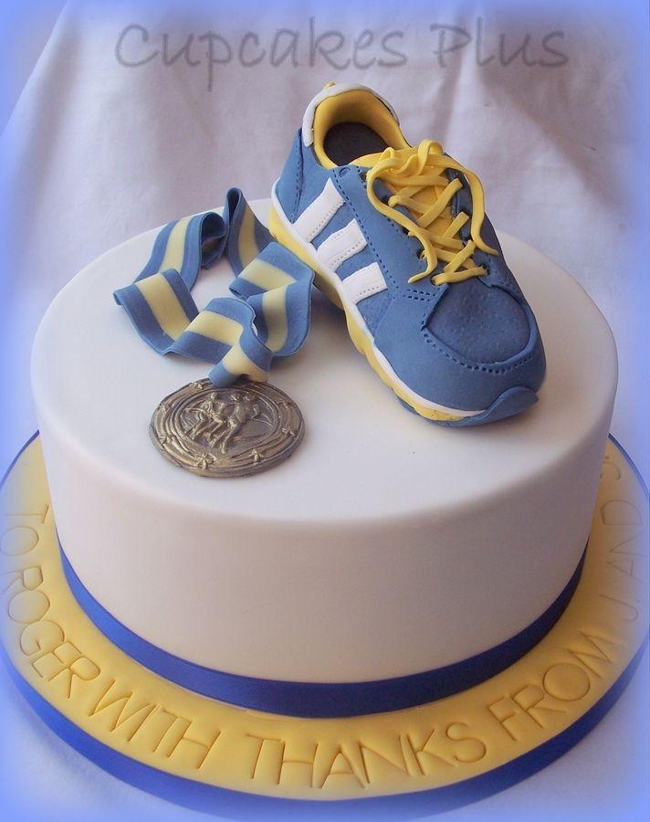 Running Cake Running Cakes Pinterest Running Cake Cake And