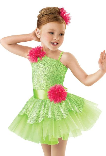 531d614413e1 Girls  Glitter Tutu with Flowers  Weissman Costume
