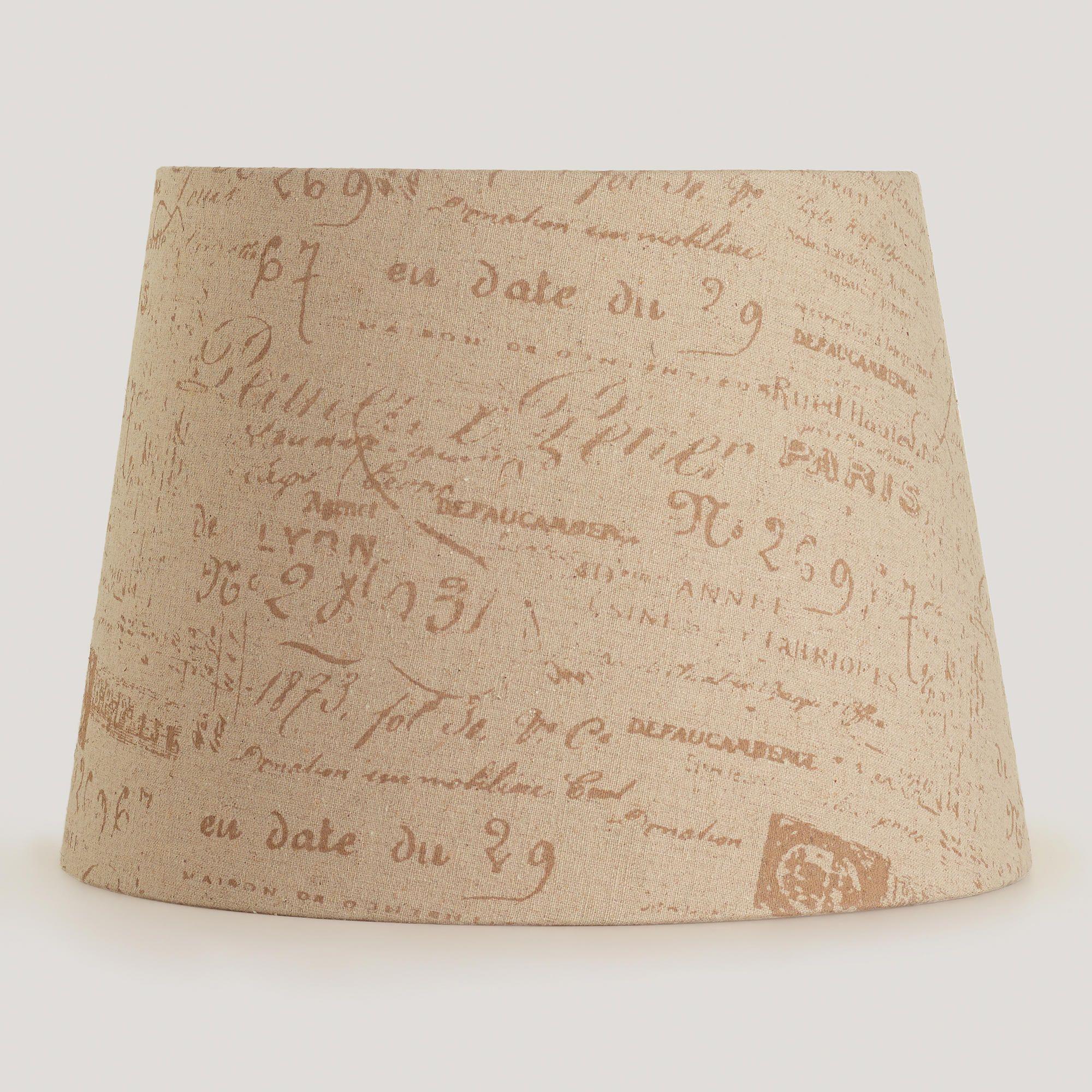 World Market Lamp Shades Parisian Script Table Lamp Shade  World Market  Products I Love