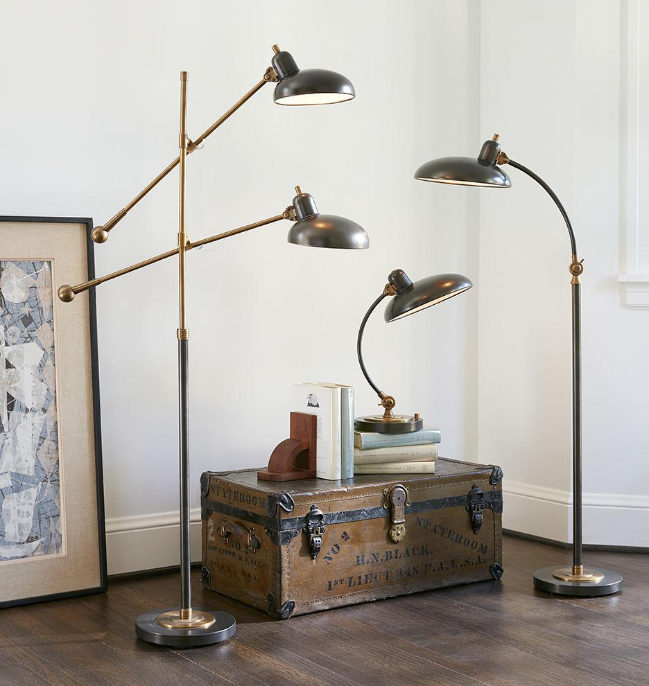 Bruno Double Arm Lighting Pinterest Floor Lamp Flooring And