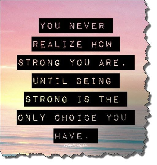 Quotes About Staying Strong Through Cancer Mesmerizing Being Strong Is The Only Choice I Have Cancer Diva Quotes That