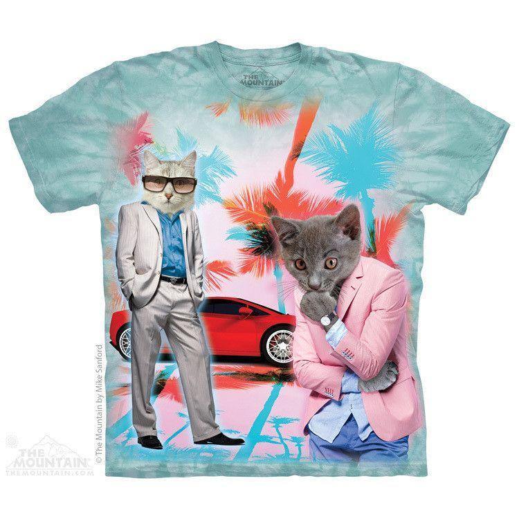 1Tee Womens The Walking Cats T-Shirt