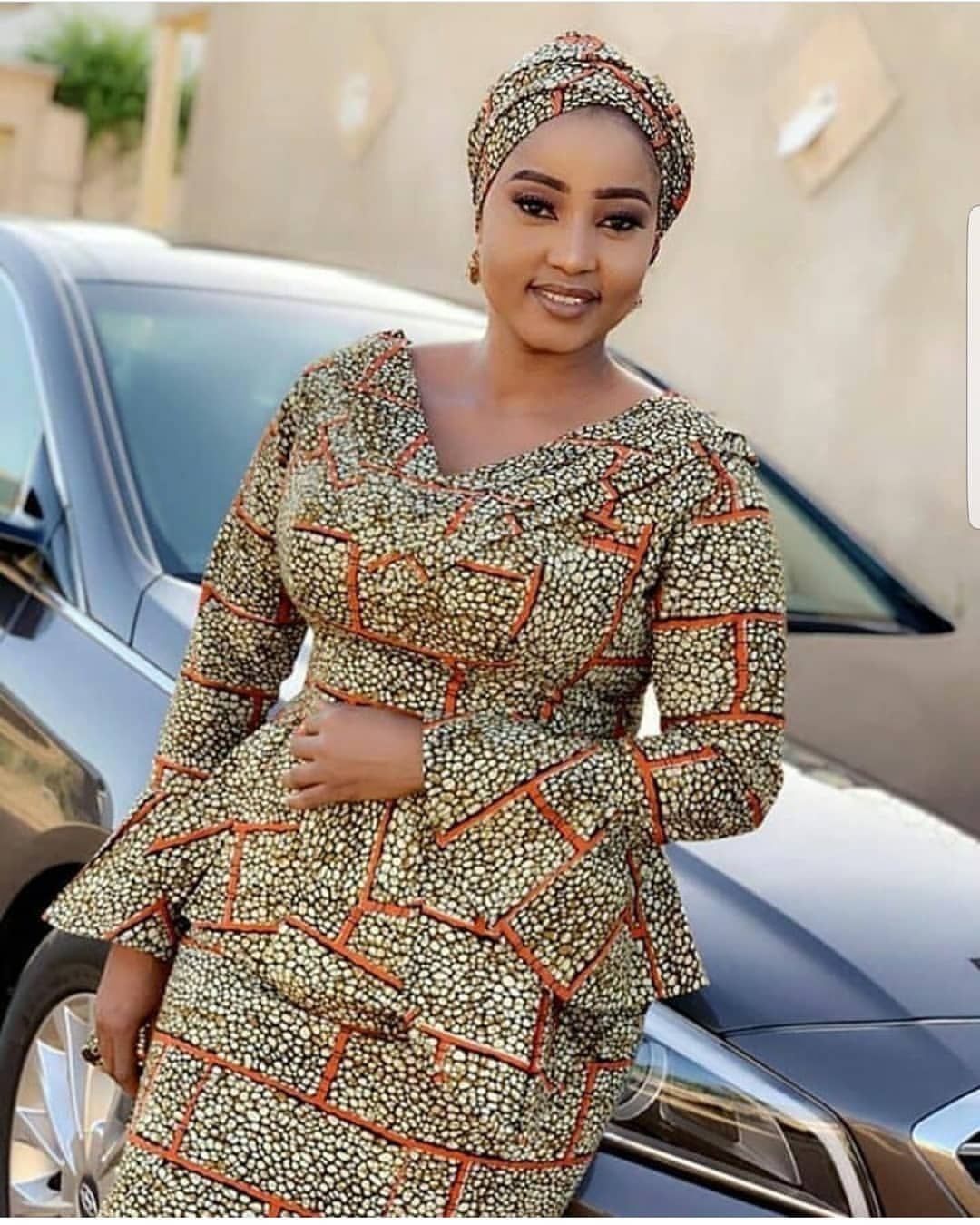 Modele de couture pagne africain - pi ti li