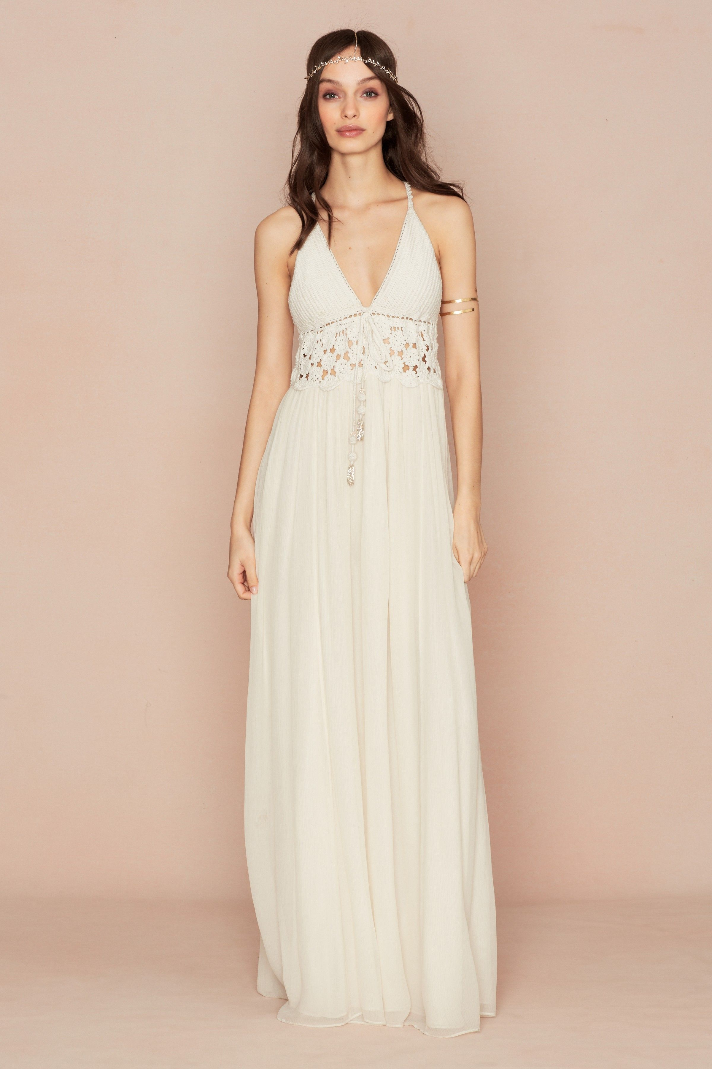 Introducing Mariee Calypso St Barths Bridal Collection For The Bohemian Bride Sasina Cotton